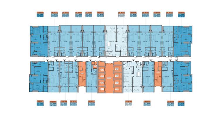 Mặt bằng Block HH21 dự án Takashi Ocean Suite