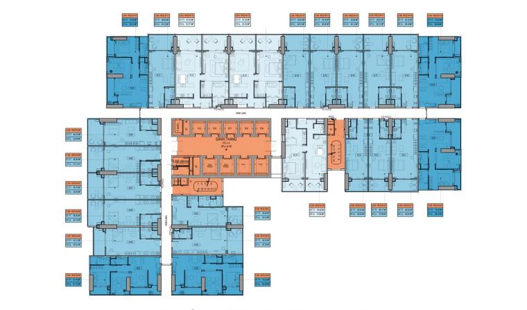 Mặt bằng Block HH22 dự án Takashi Ocean Suite
