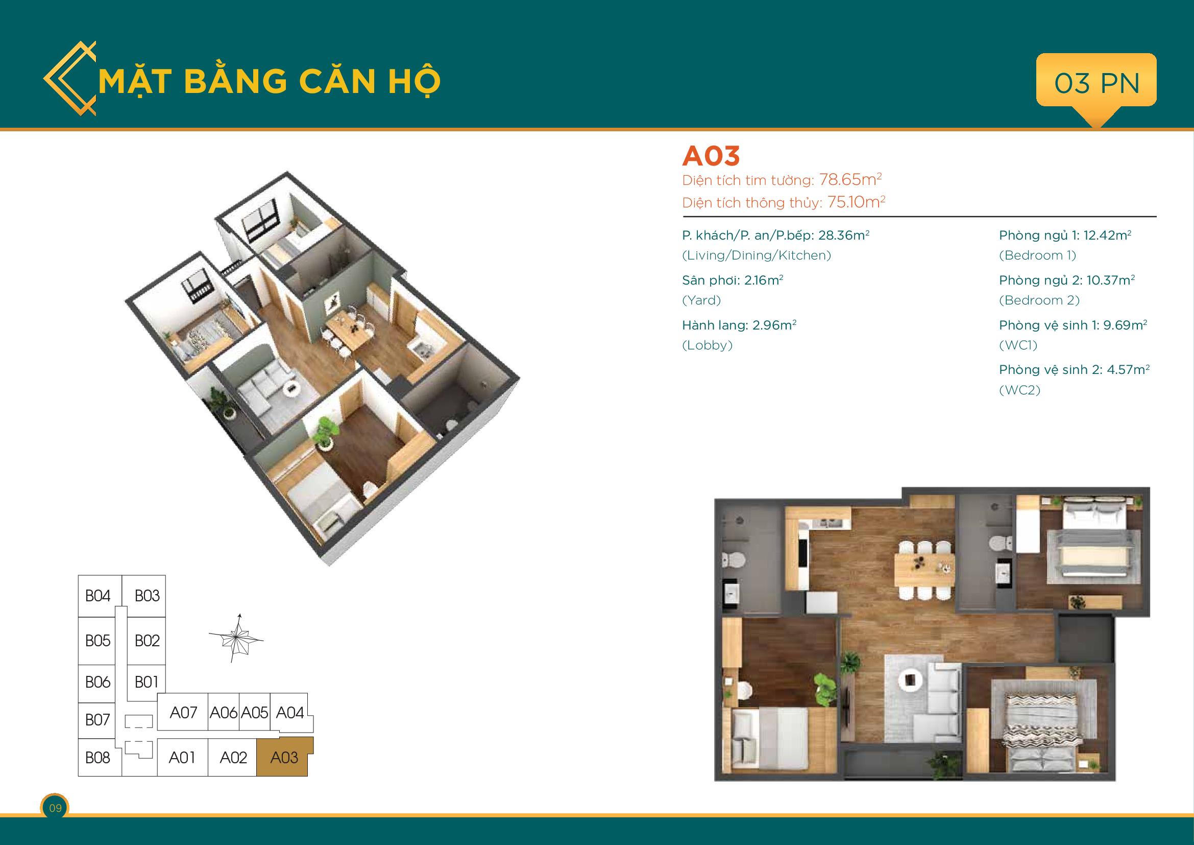thiết kế căn hộ quận 7
